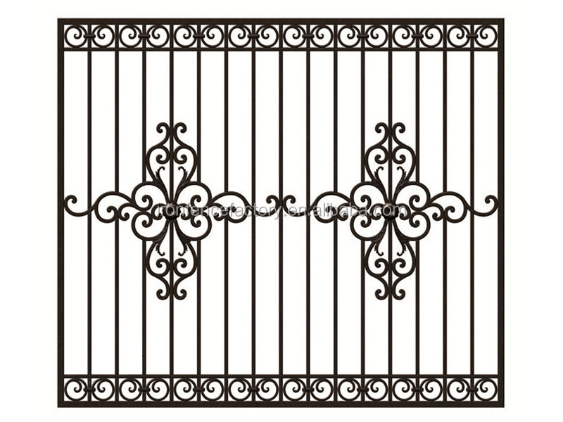 2016 latest wrought iron steel windows designs cast steel for Fenetre fer forge 2017