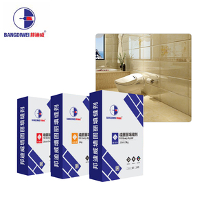 White Black cementitious waterproof tile grout for ceramic tiles