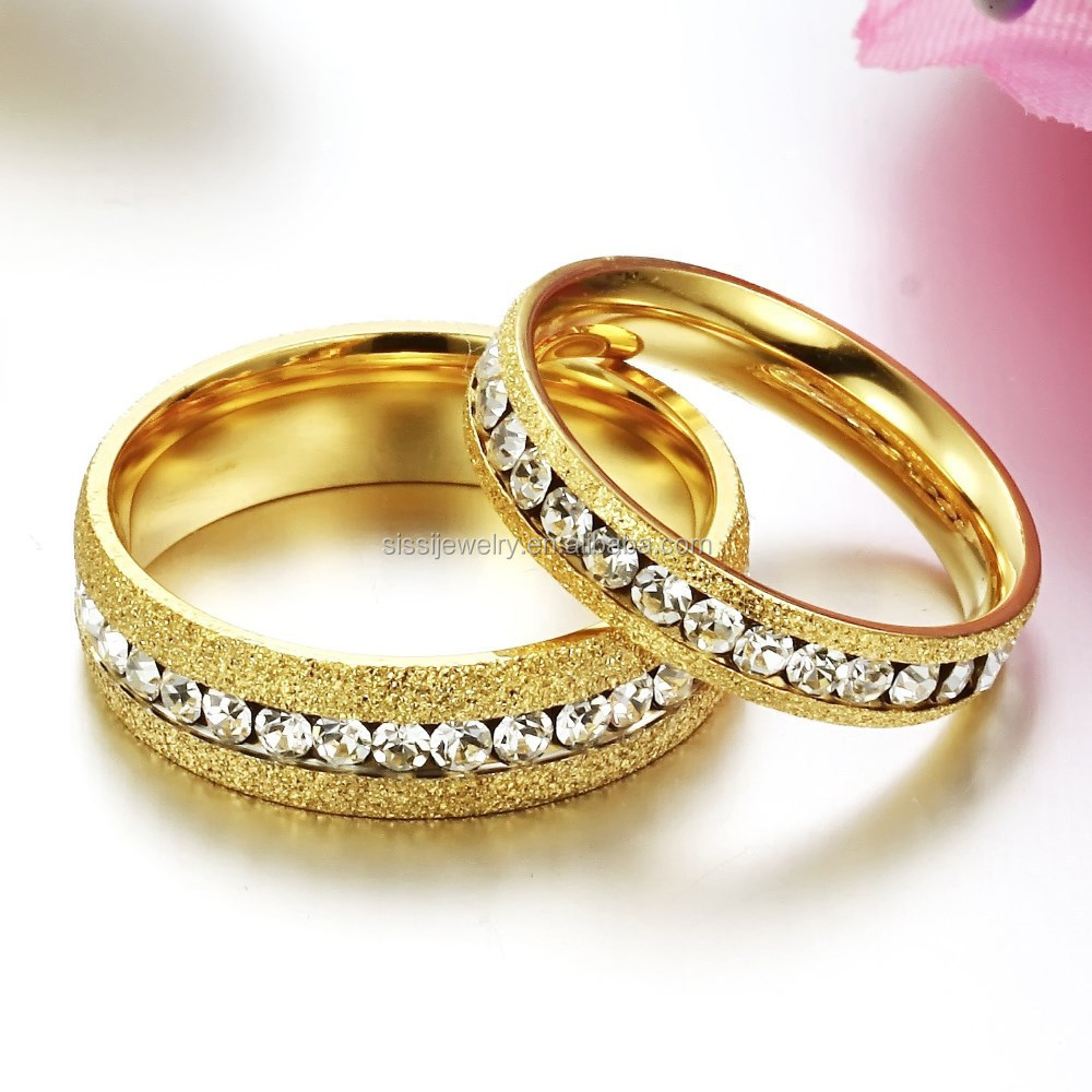 fine jewelry stainless steel diamond latest gold finger ring designs
