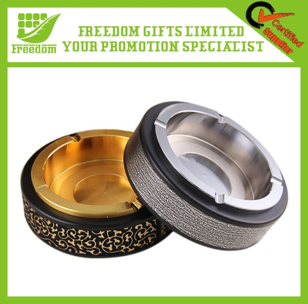 Promotional Items Indoor Stainless Steel Metal Cigar Ashtray