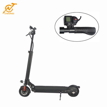 CNEBIKES 8inch lithium battery power supply 2 wheel electric standing scooter for sale