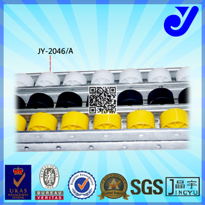 JY-2046A||industrial Roller Track for conveyor|universal skate wheel conveyors |roller tracks manufacturer
