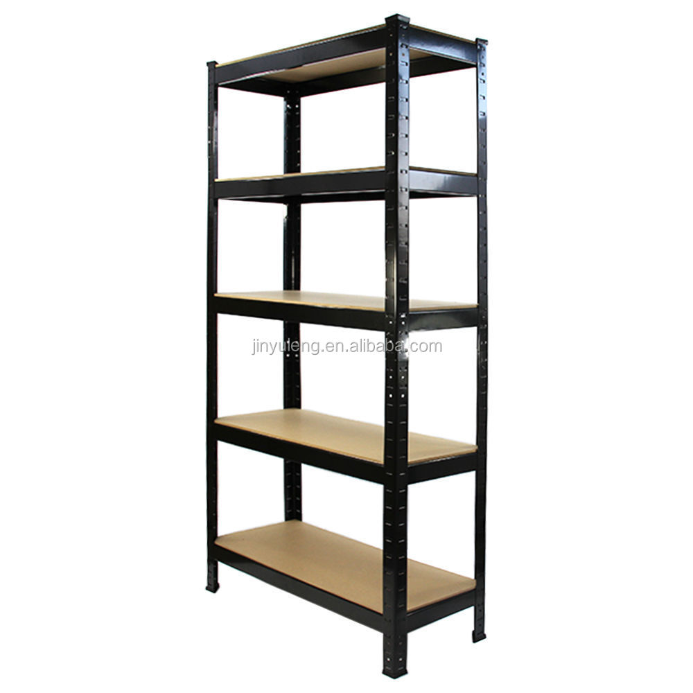 5 tier heavy steel tacking duty boltless storage shelves garage shelving Storeroom Stockroom Shelves Storage