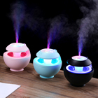 China Wholesale Portable CE Mini Usb Air Humidifier with light fan