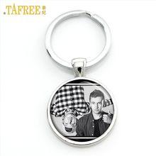 TAFREE Twenty One Pilots брелок, музыкальные Поклонники группы мужчин и женщин, графический кулон для ключей, металлические ювелирные изделия, держате...(China)