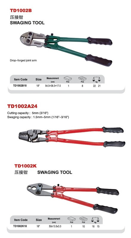 Swaging Tool For Wire Rope And Cable - Buy Tool,Swaging Tool,Wire ...