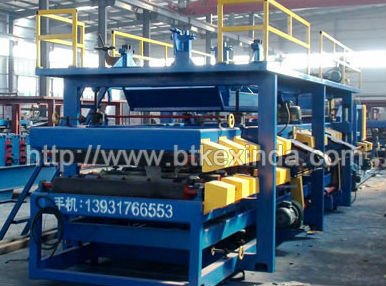 Rock wool boad sandwich panel production line manufacturer