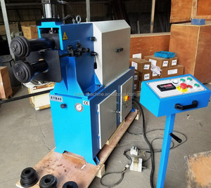 Hydraulic beading machine HTB-40 for sale Bordering & trimming machine