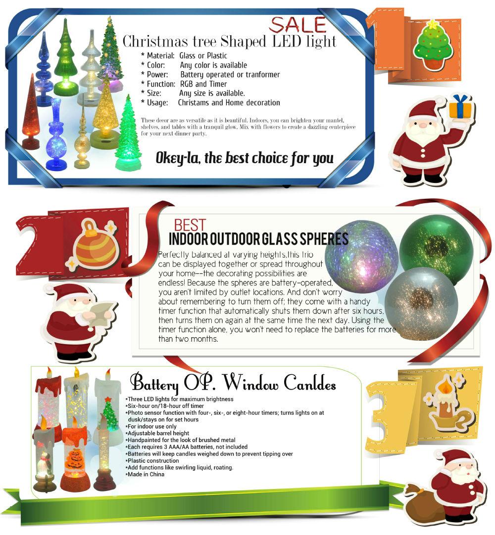 Big Lots Sale Christmas Mercury Led Coloar Change Glass Tree ...