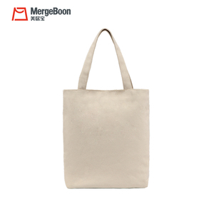Top quality customized standard size cotton tote shopping bag