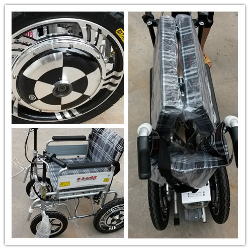 Easy Use Electric Wheelchair