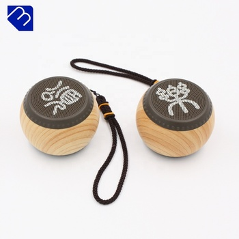 Good Sound Selling Bluetooth Mini Microphone 15 Inch Best Rechargeable Super Bass Portable Computer Bluetooth 10 Wooden Speaker