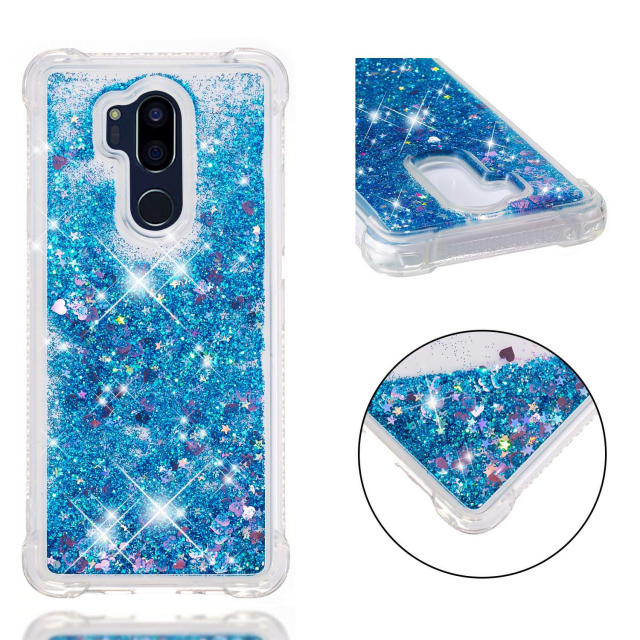 For LG G7 Wholesale Glitter quicksand anti-scratch tpu phone case for LG K8 2018