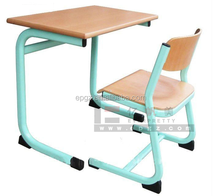 college student study chairs and desk for school fruniture