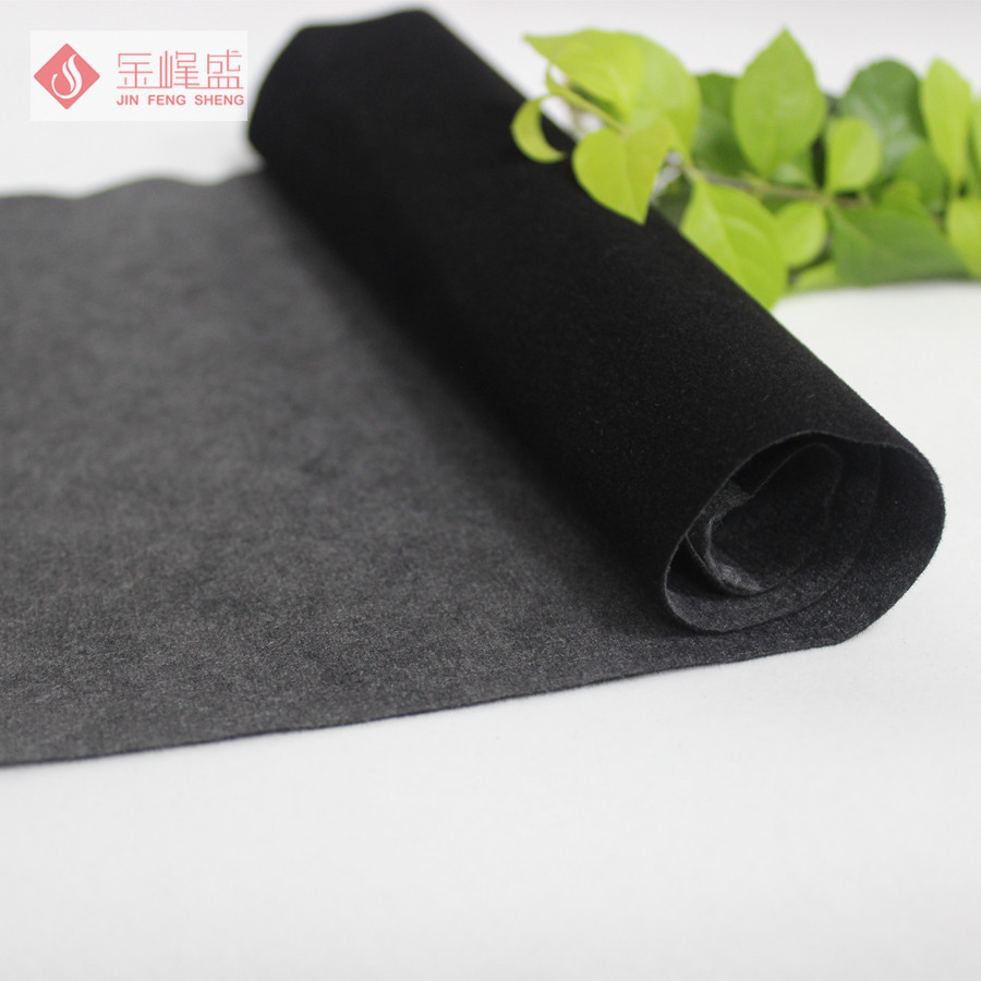 China Supplier 100% Polyester Fabric Self-adhesive Flock Paper/ Pp ...