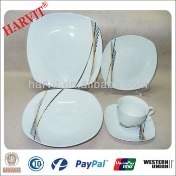 High Quality Germany Porcelain Dinnerware 20PC Square Shape Dinner Sets  sc 1 st  Alibaba & High Quality Germany Porcelain Dinnerware 20pc Square Shape Dinner ...