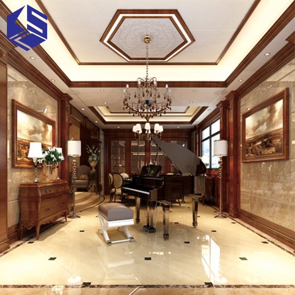 KSL New arrival interior decorative wall covering panels wood palstic wall decoration 3d board interior wall panel