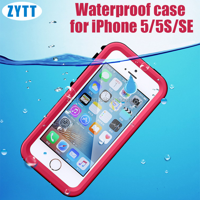 Wooden case for iPhone 5 metal bumper case waterproof box for phone 5