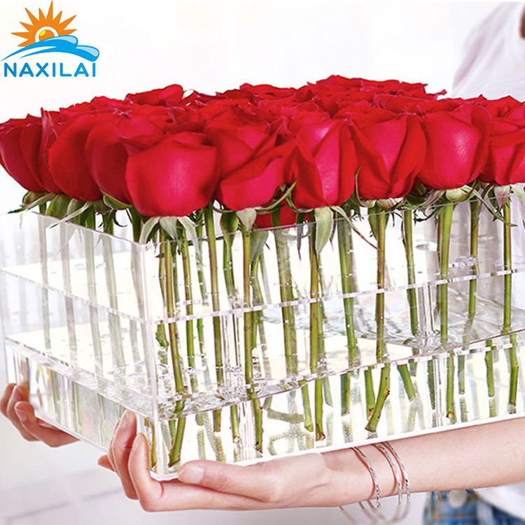acrylic flower box-3