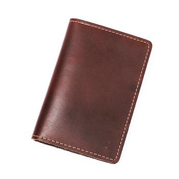 b9e35439c533d Toptan GUBINTU erkekler çılgın at el yapımı cüzdan kart sahibinin ince  sikke çanta sikke