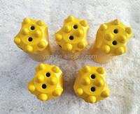 Tungsten carbide rock drill bit 7 tips taper button bit sharpener industrial drill bit