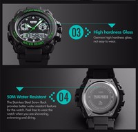 2016 Best Sport Watches For Men Skmei Digital Watch Instructions ...