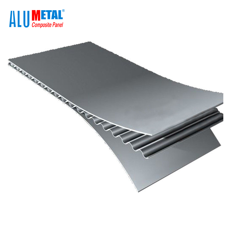 Alumetal New launch Green <strong>Material</strong> A2 Fireproof Aluminum Corrugated Composite Panel