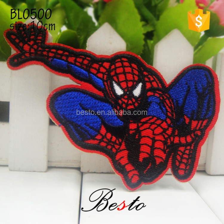 Lovely ultraman applique embroidery design cratoon patch for tshirt