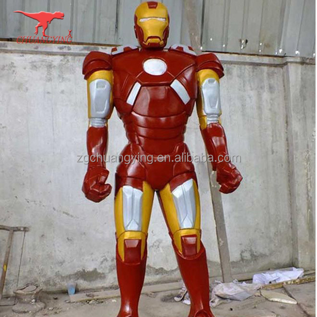 Hot sale customization fiberglass Cartoon characters