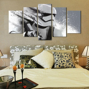 HD 5 piece Movie Poster Canvas Painting Wall Pictures For Living Room Decorative printing