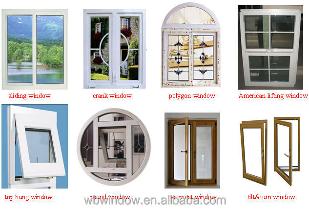 Foshan Cheap House Window For Saleplastic Side Hung Window For