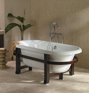 Great Bathtub Stand Ideas - The Best Bathroom Ideas - lapoup.com