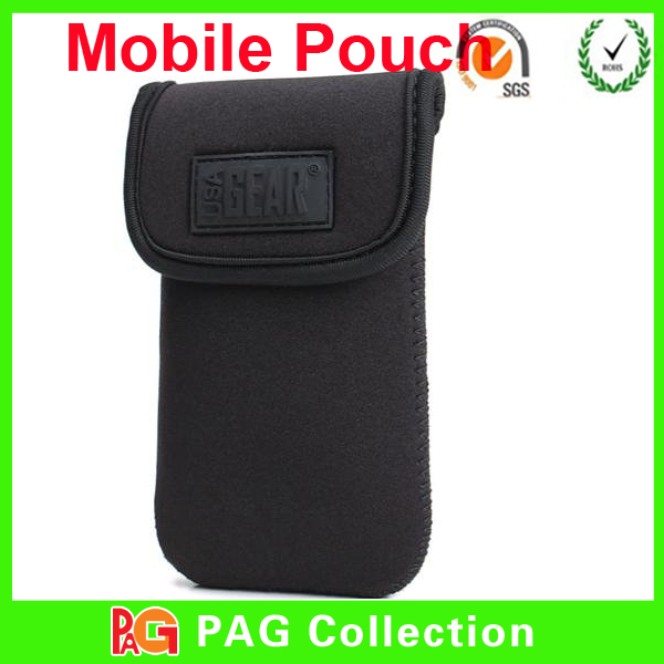 New design in 2014 Neoprene Cell Phone belt Pouch