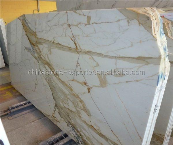 Italie plaque de marbre blanc calacatta carreaux de marbre dalles calacatta or marbre marbre - Marbre blanc calacatta ...