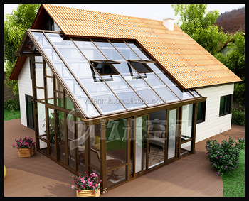 Sunroom greenhouse kits sunroom winter garden glass for Kitchen with sunroom attached