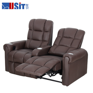 Usit UV 822A VIP Home Theater Seating, commercial leather sofa with cup holder