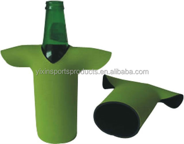 t-shirts shaped neoprene beer bottle cooler/ can cooler