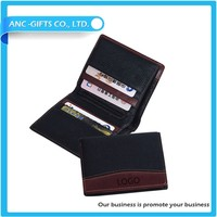 New goods durable cowhide genuine leather wallet men for customized