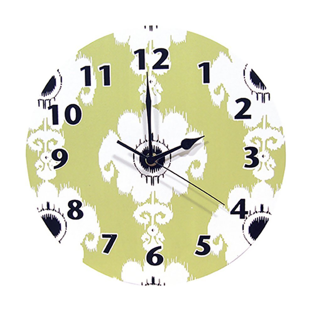 Trend Lab Home Indoor Baby Nursery Room Decorative Wall Clock Waverly Rise And Shine