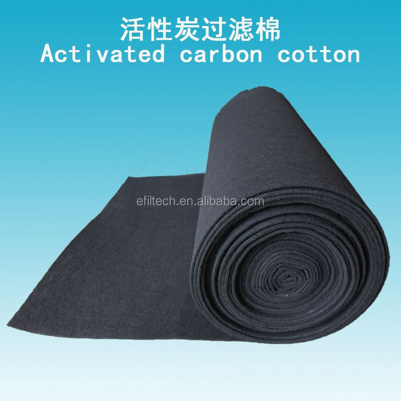 High Content Air Filter Activated Carbon Sponge Filter Mesh