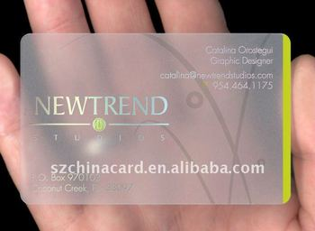 Clear plastic pvc business cards calling card name card buy clear clear plastic pvc business cards calling card name card colourmoves