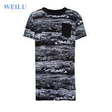 wholesale custom fancy prinitng t shirt with full print manufacturing in China