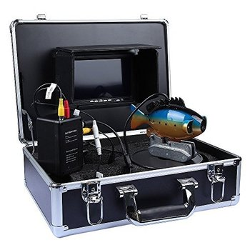 "Underwater Fish Camera / Color Fish monitor/ fish finder, 7"" Color display, 20M Cable"