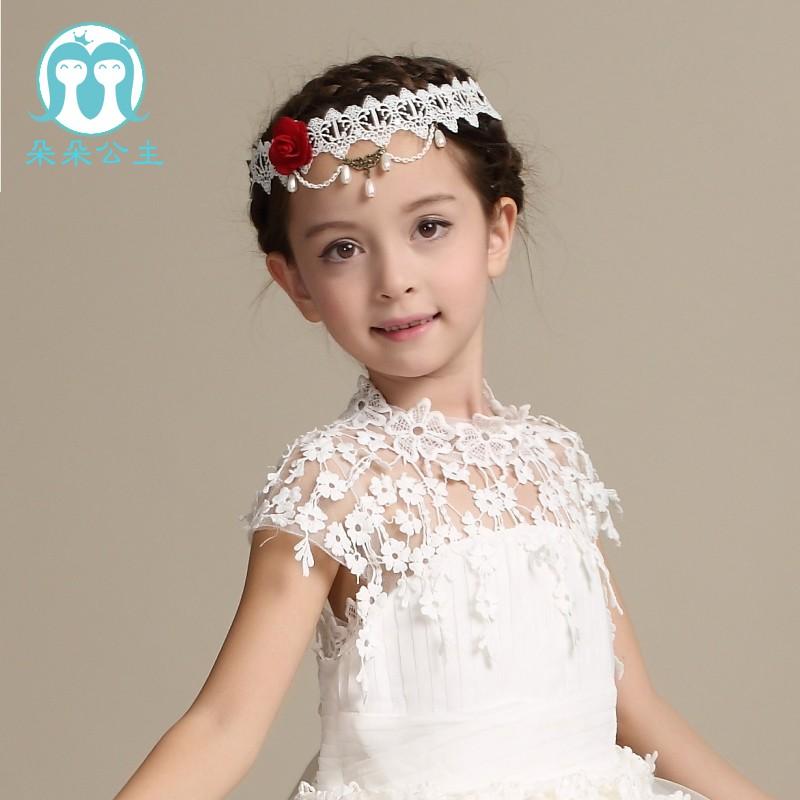 75926c734b39 Wedding Dress 2018 Children Long Frock Design White Princess Dresses ...