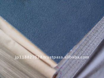 High density flame retardant rubber sheet with adhesive for cars.