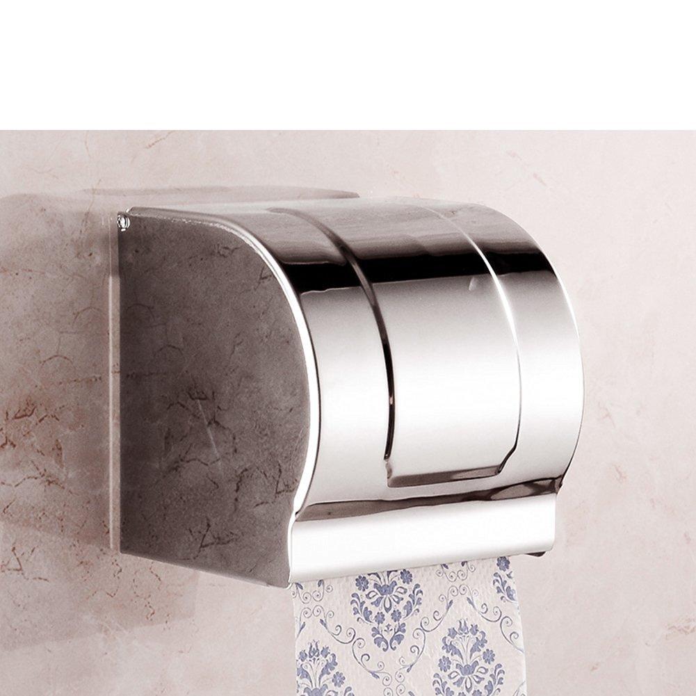Stainless steel toilet tissue box/ toilet tissue paper holder/Box/Waterproof toilet paper box/ toilet roll holder-H