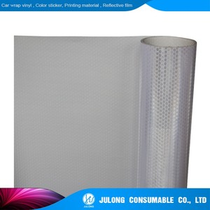 photo about Printable Fabric Roll named Printable Honeycomb Reflective Material Flex Banner Roll for Advertisment