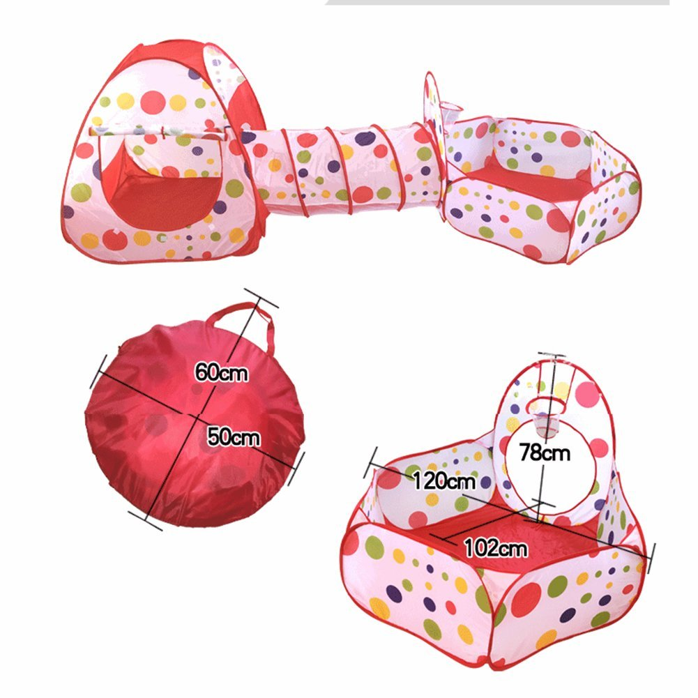 Get Quotations · Kids Play Tents With Tunnels Indoor or Outdoor SEANUT Pop up Easy Folding Childrenu0027s Playhouse  sc 1 st  Alibaba.com & Cheap Kids Tunnels And Tents find Kids Tunnels And Tents deals on ...