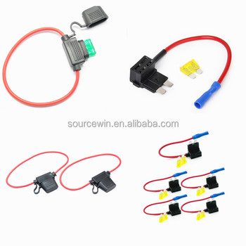 electrical auto vehicle 12v car add a circuit fuse tap adapter plastic mini atm apm blade inline fuse holder buy atm apm blade inline fuse  12v car add a circuit fuse tap adapter