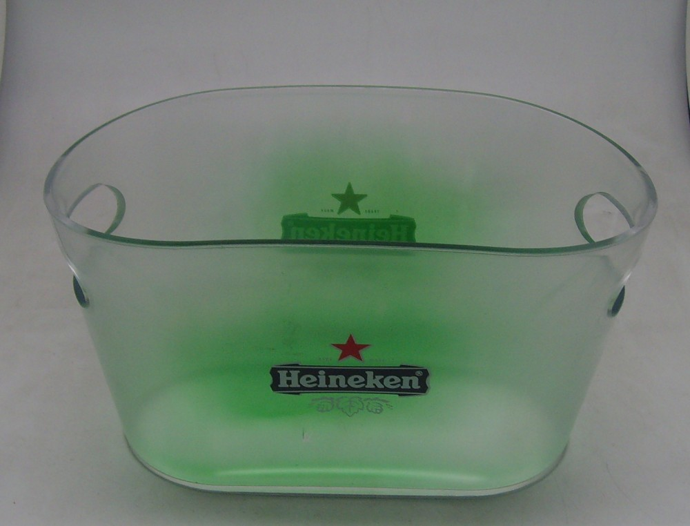 double handly Waist type plastic ice bucket